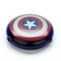 Captain America Glass Pipe